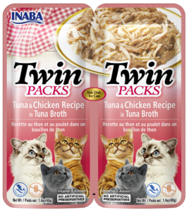 INABA TWIN PACKS CAT - DWUPAK saszetek dla kota kurczak tuńczyk