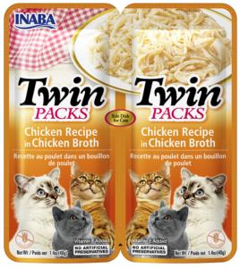INABA TWIN PACKS CAT - DWUPAK saszetek dla kota kurczak
