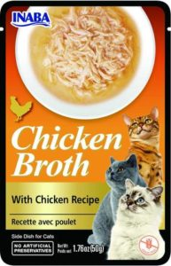 Inaba CHICKEN BROTH Rosół z mięsem z kurczaka dla kota 50 gr