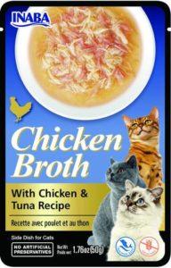 Inaba CHICKEN BROTH Rosół z mięsem z kurczaka i tuńczykiem dla kota 50 gr
