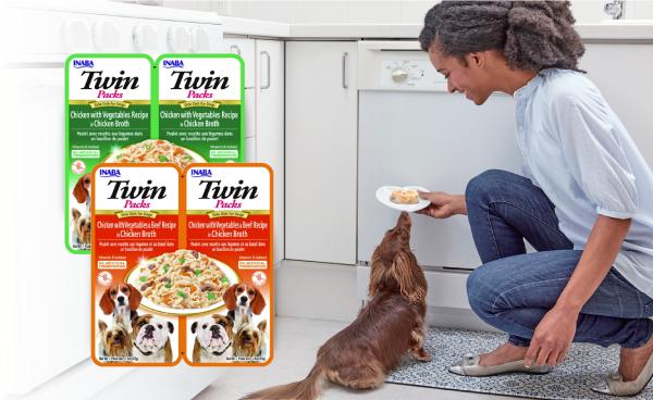 INABA TWIN PACK DOG - DWUPAK SASZETEK DLA PSA